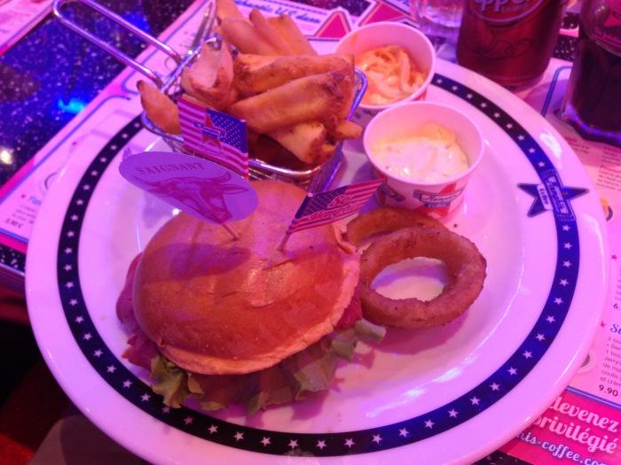 Hamburger lousiana